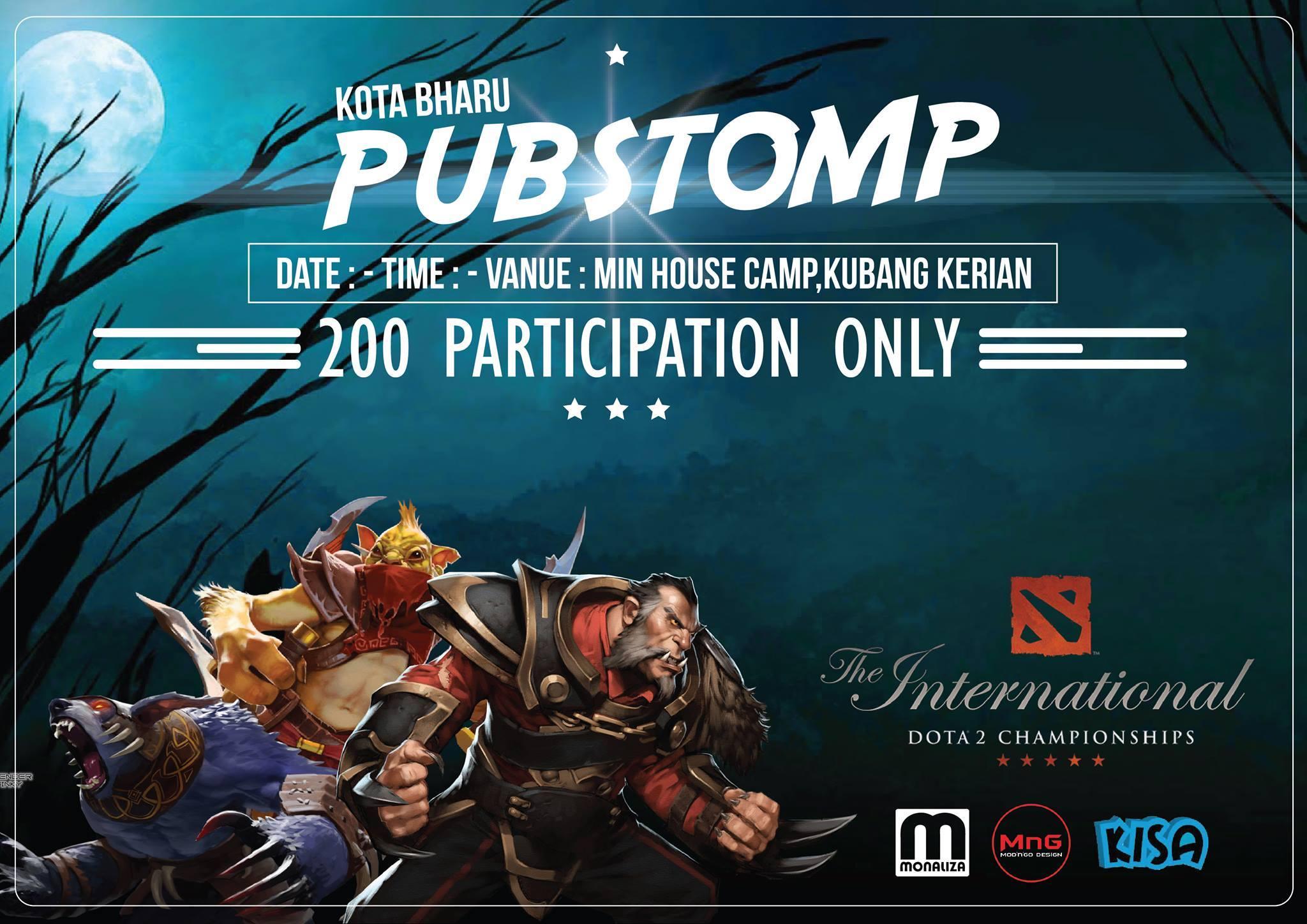 DOTA2 The International - Pubstomp East Coast, Malaysia 2