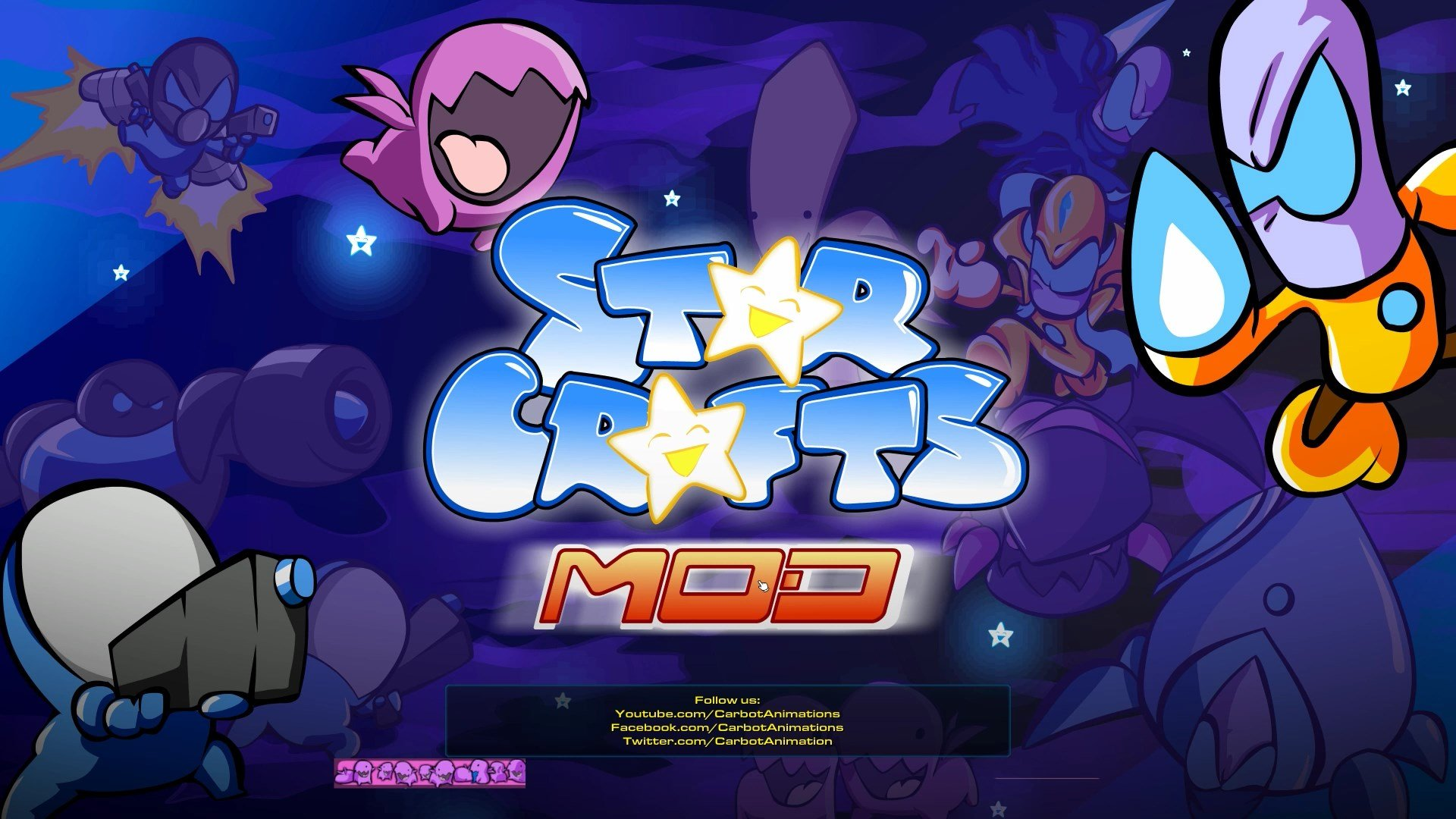 the starcrafts mod for starcraft ii by carbot animations