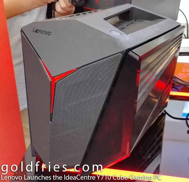 Lenovo Launches the IdeaCentre Y710 Cube Gaming PC 1
