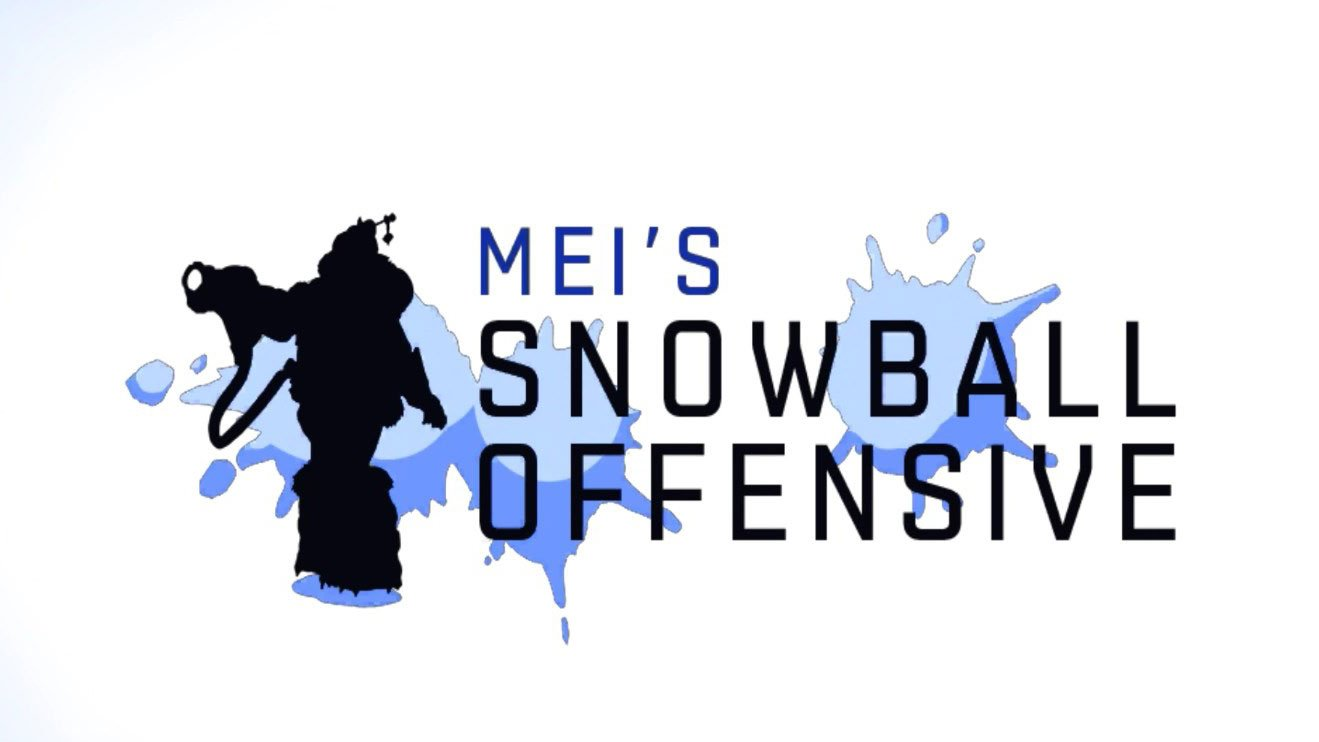 Mei's Snowball Offensive on Overwatch Christmas Update 2