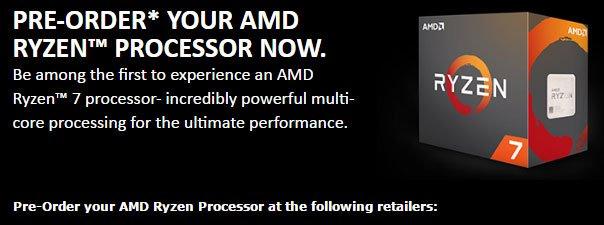 Pre-Order Your AMD Ryzen Processor (Malaysia) 3