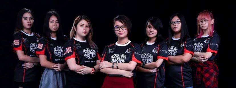 Cooler Master Announces Malaysia's First All-female Overwatch Team from Malaysian Battlefield Team (MBT) 6