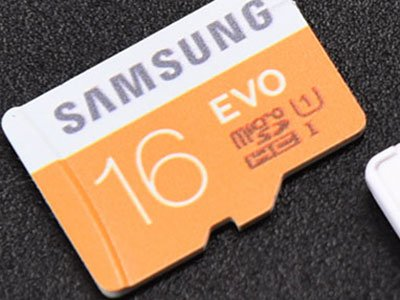 Samsung MicroSDHC EVO Memory Card (16GB with Adapter) Review 8