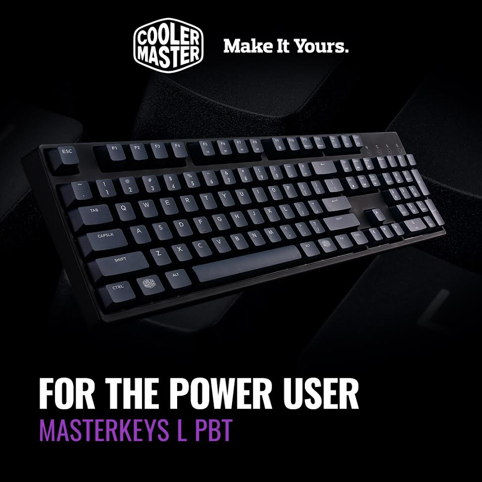 Cooler Master Launches Enthusiast PBT Keycap Mechanical Keyboards 3