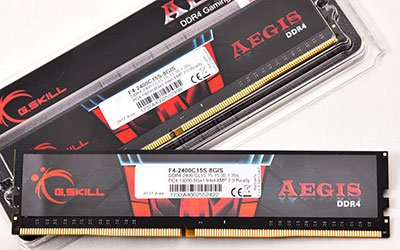G.Skill Aegis DDR4-2400 Review 2