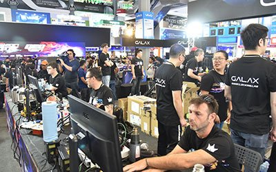 The GALAX GOC 2017 in Bangkok, Thailand. Overclock Away! 2