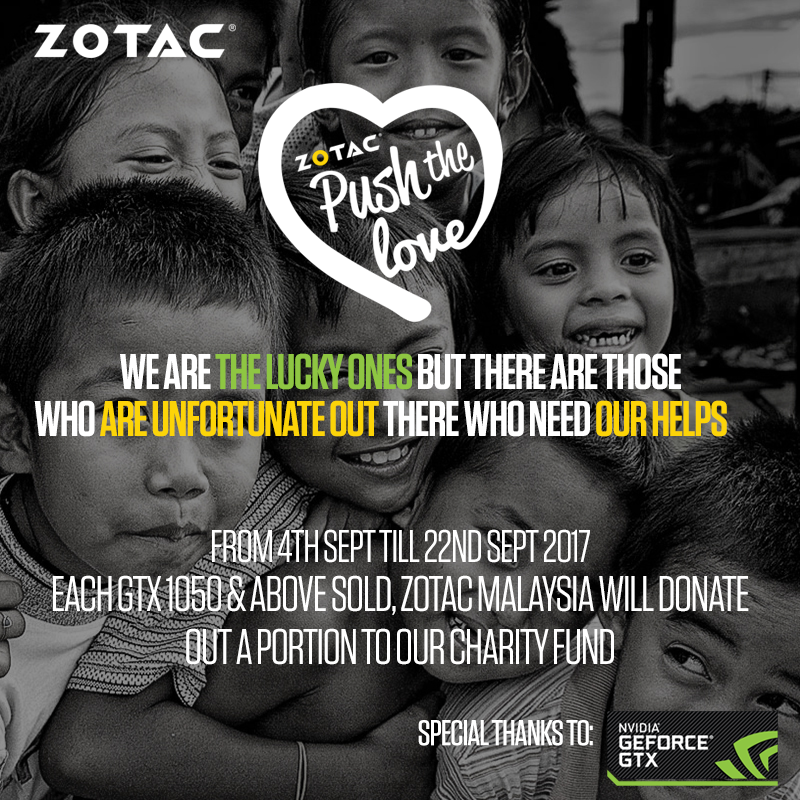 ZOTAC PUSH THE LOVE campaign ends with a BLAST! 6