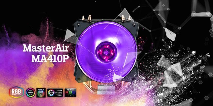 MasterAir MA410P New Pro-grade CPU Air Cooler with RGB 4