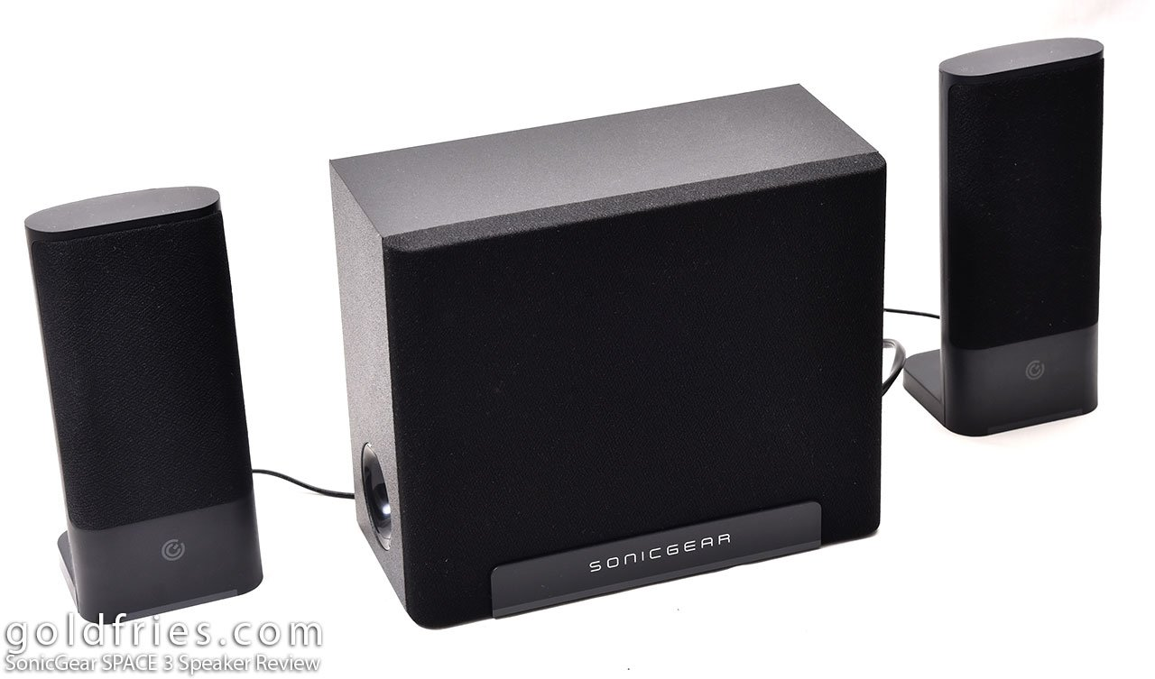 SonicGear SPACE 3 Speaker Review 3