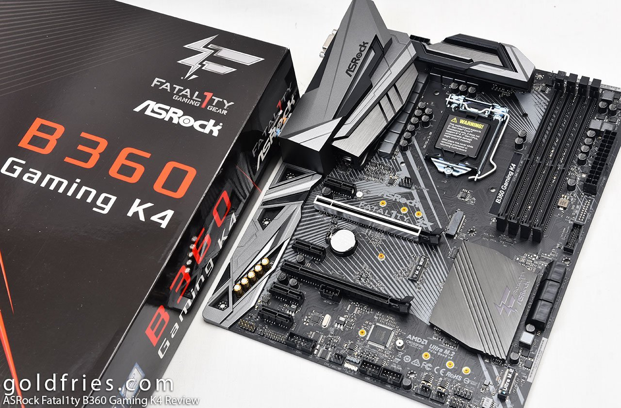 ASRock Fatal1ty B360 Gaming K4 Review 5