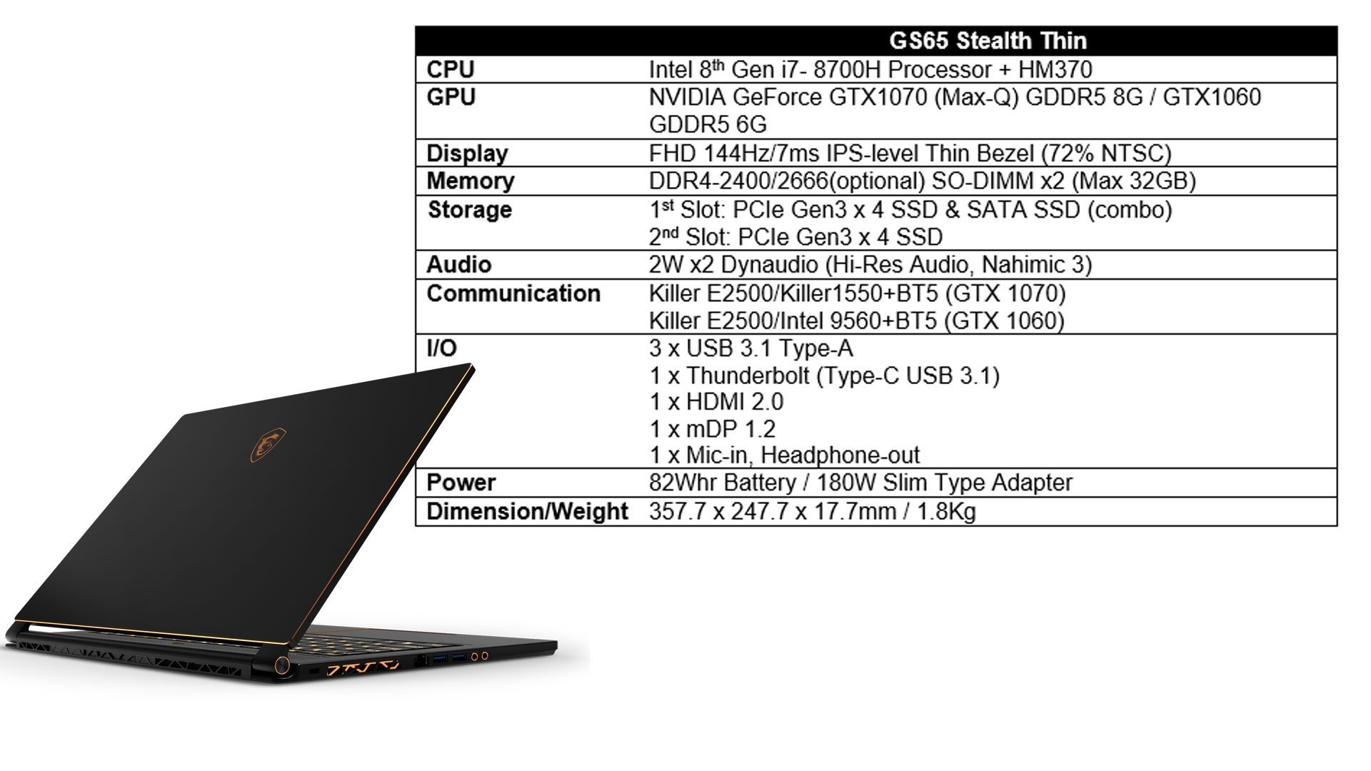 New Gaming Laptops from MSI with Intel 8th Generation Processors 21