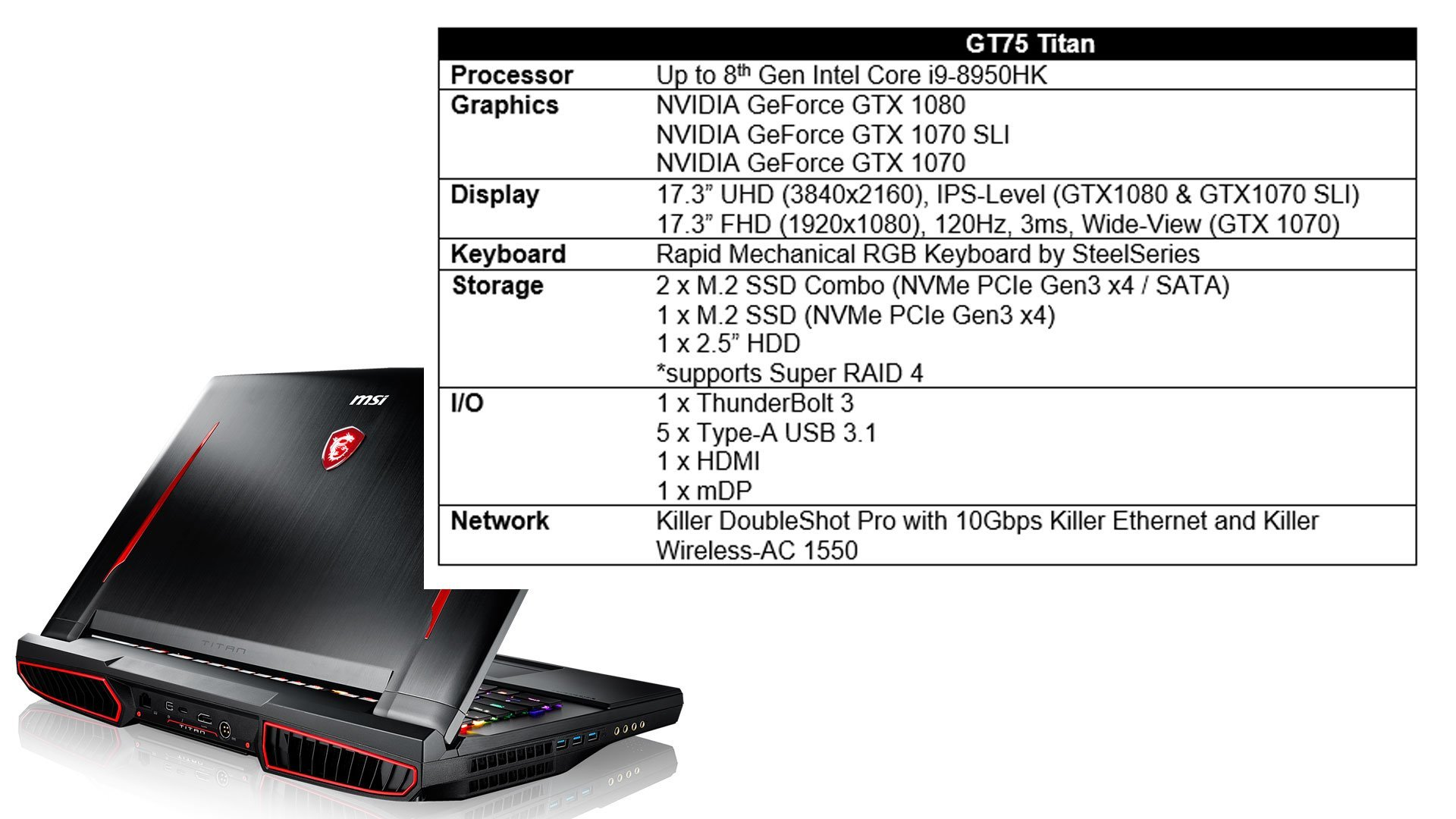 New Gaming Laptops from MSI with Intel 8th Generation Processors 27