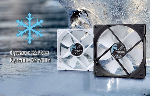 Fractal Design Expand Dynamic X2 and Venturi Fan Series 2