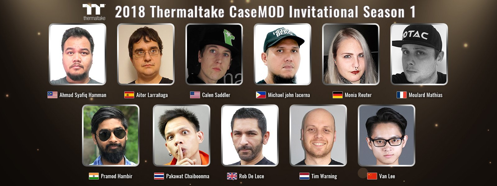Thermaltake 2018 CaseMOD Invitational Season 1  Final Voting Event Live Now! 3