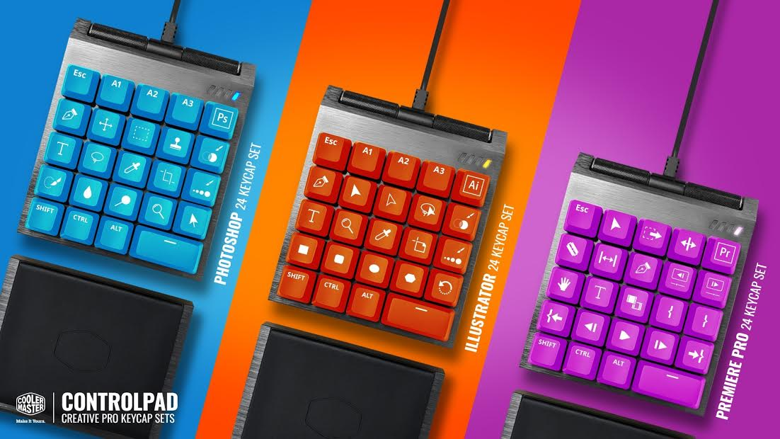 Cooler Master Debuts the ControlPad via Kickstarter 2