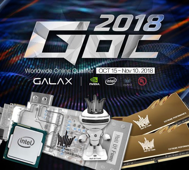 GALAX Announces GOC 2018 Online Qualification Contest 4