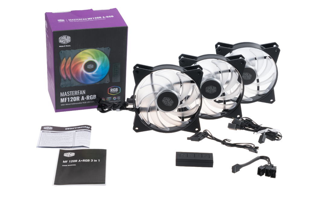 Cooler Master Releases the MasterFan MF120R & MF140R Addressable RGB Case Fans 2