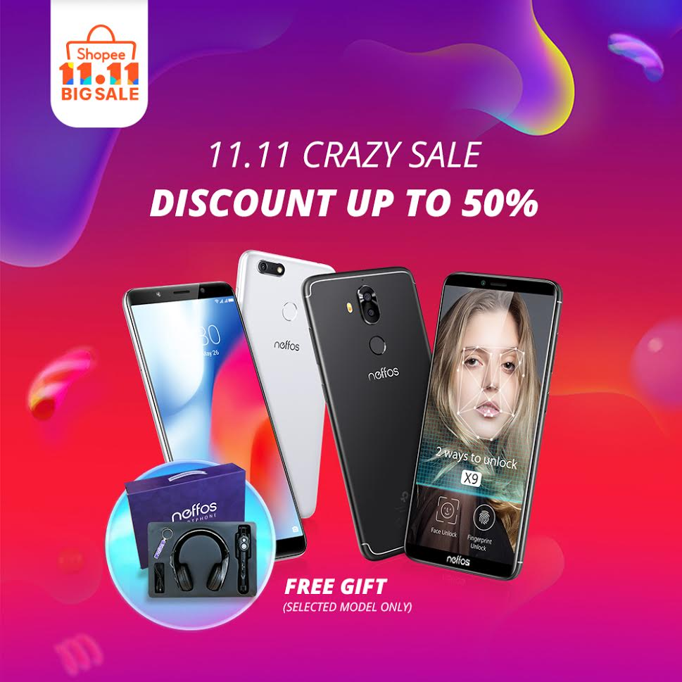 Shocking Sale Shopping with Shopee and Neffos! 8