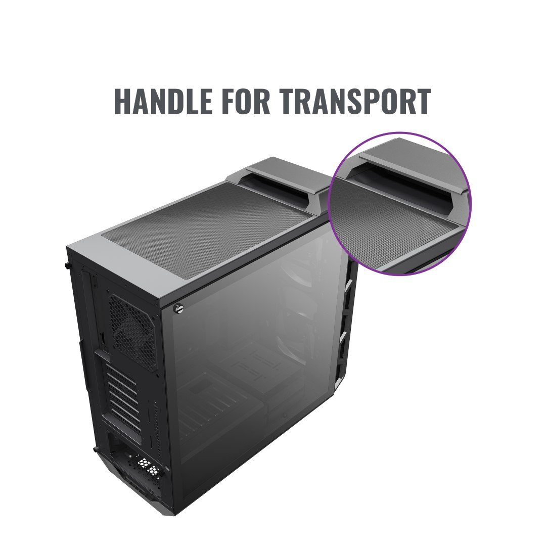 Cooler Master MasterCase H500 Launched at RM 399 15