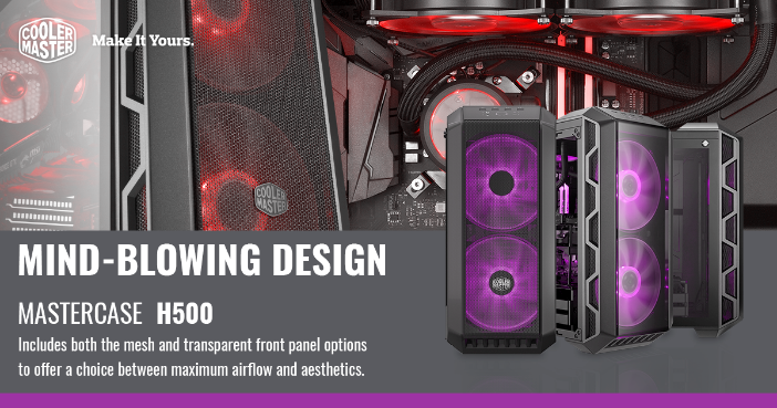 Cooler Master MasterCase H500 Launched at RM 399 11