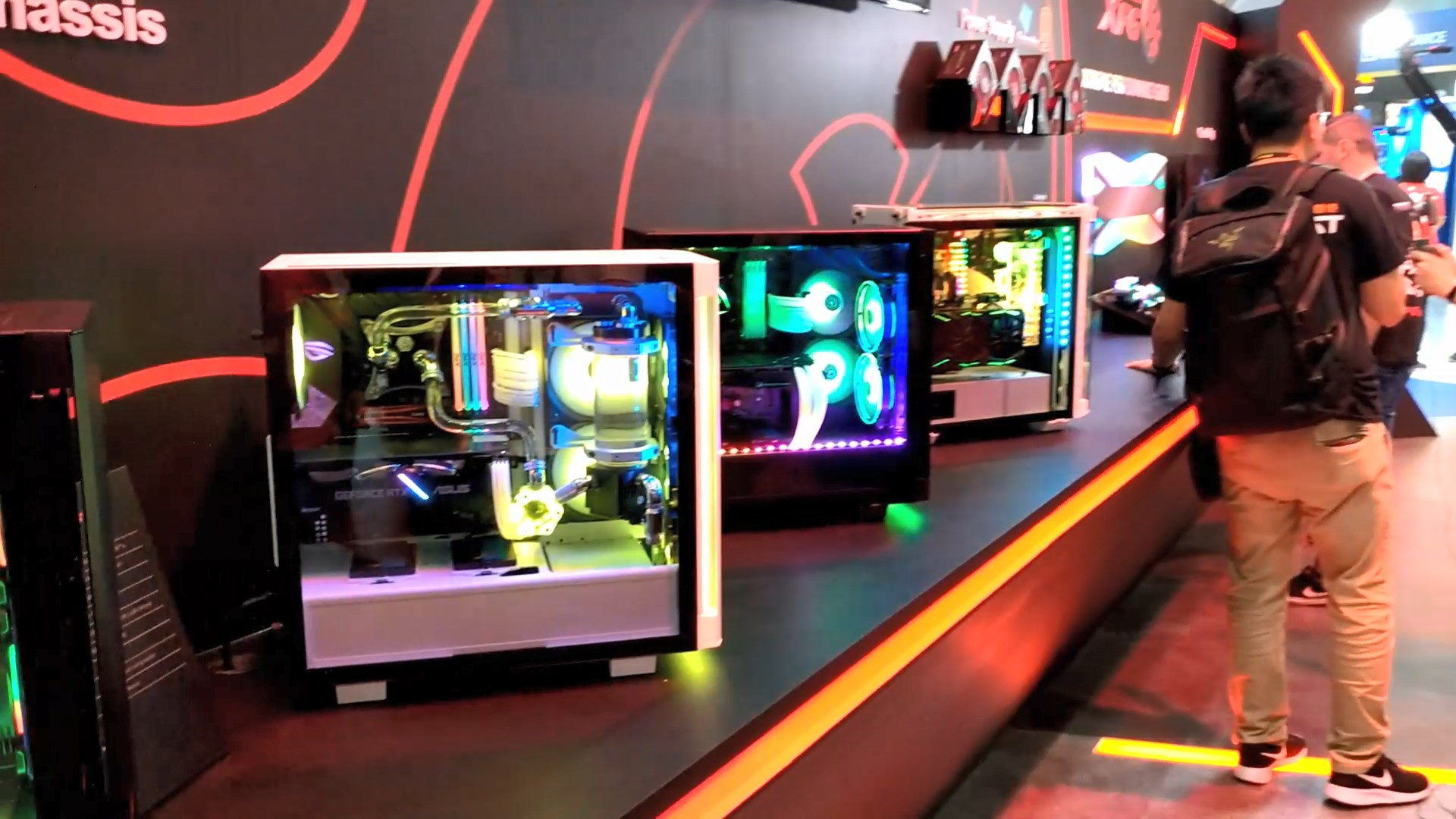 XPG Casings - BattleCruiser and Invader at Computex 2019 6