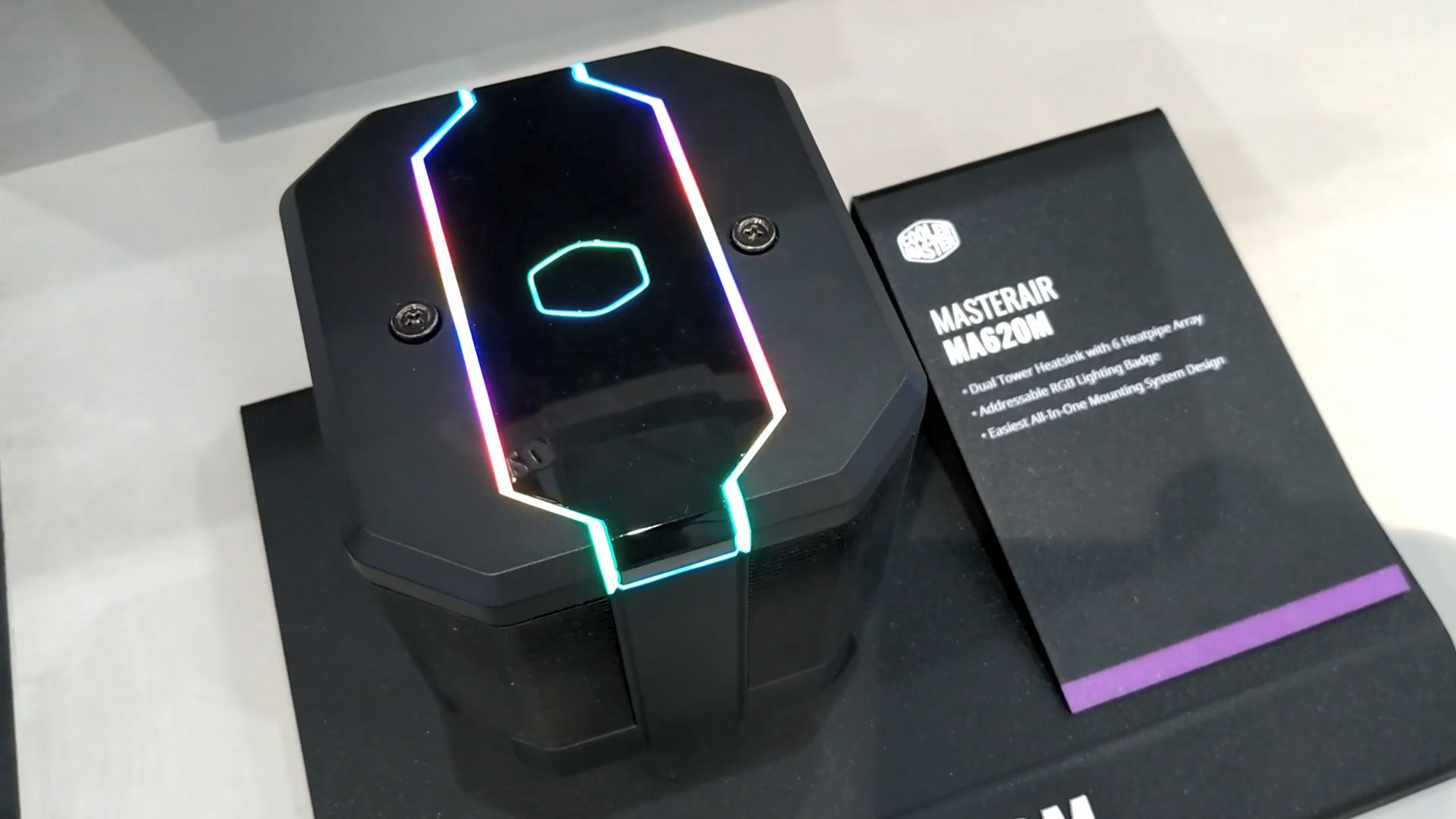 Cooler Master MasterAir MA620M and MasterAir Maker 3DVVC at Computex 2019 4