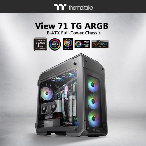 Thermaltake View 71 Tempered Glass ARGB Edition Launched 4