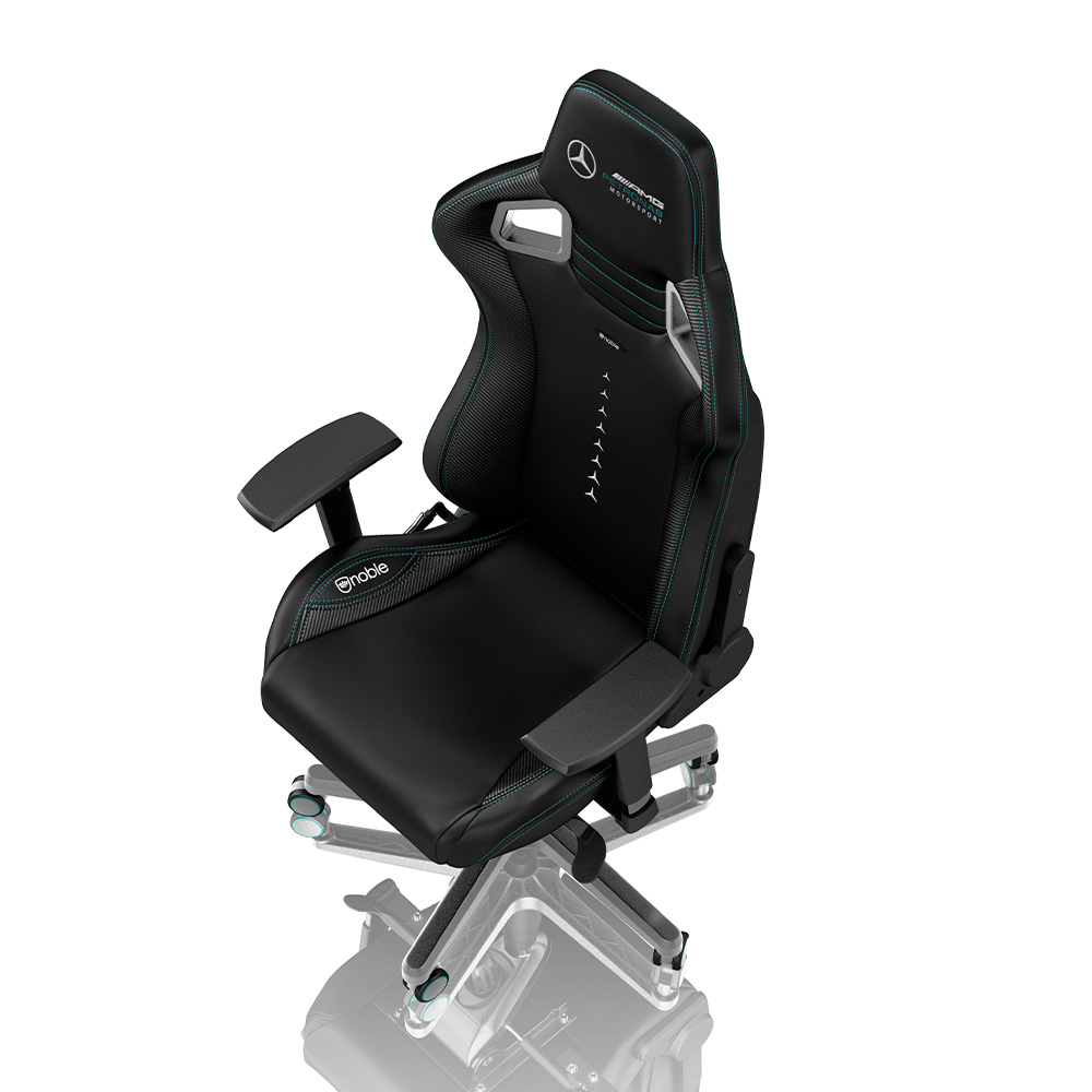 The noblechairs EPIC Mercedes-AMG Petronas Motorsport Edition at RM 1,749 5