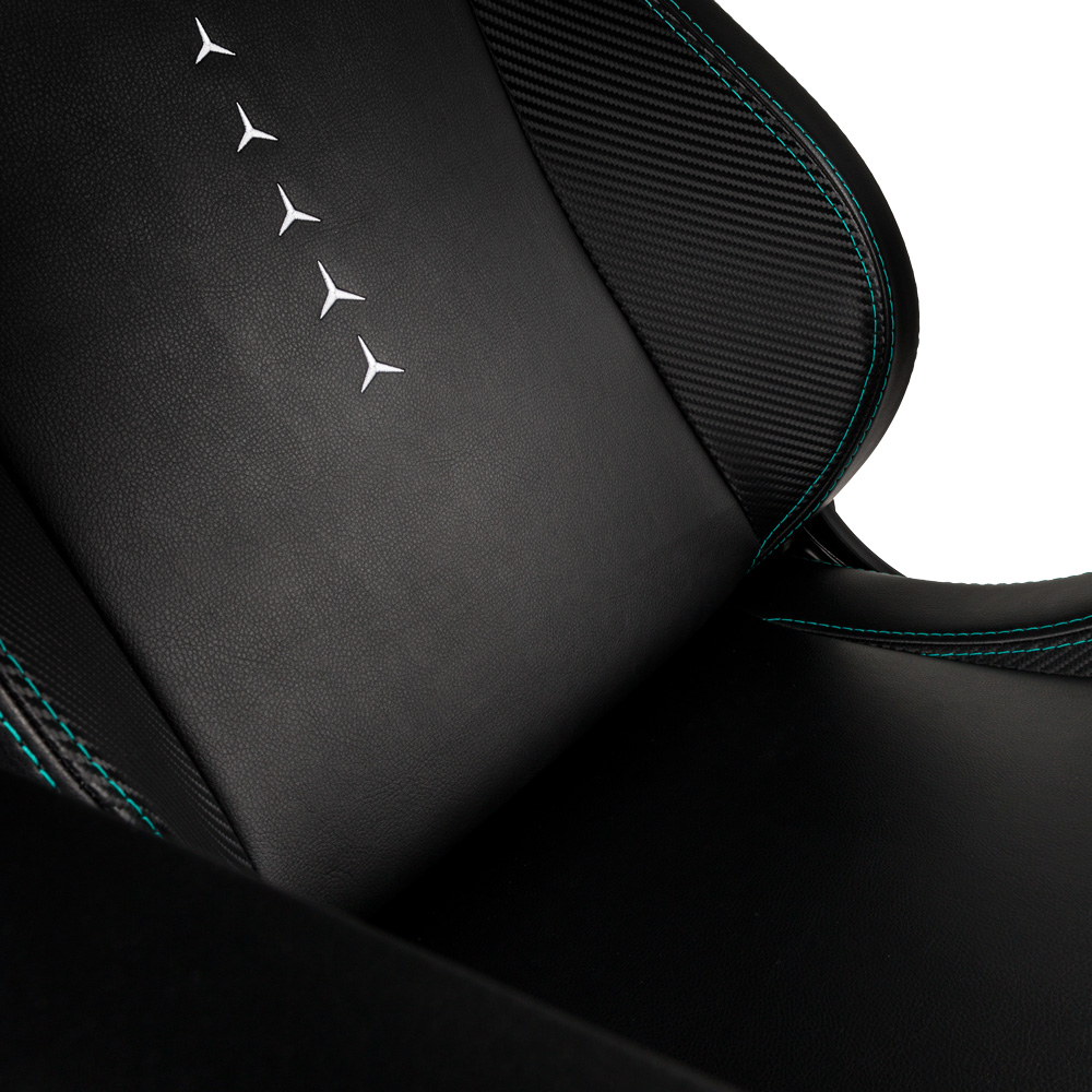 The noblechairs EPIC Mercedes-AMG Petronas Motorsport Edition at RM 1,749 3