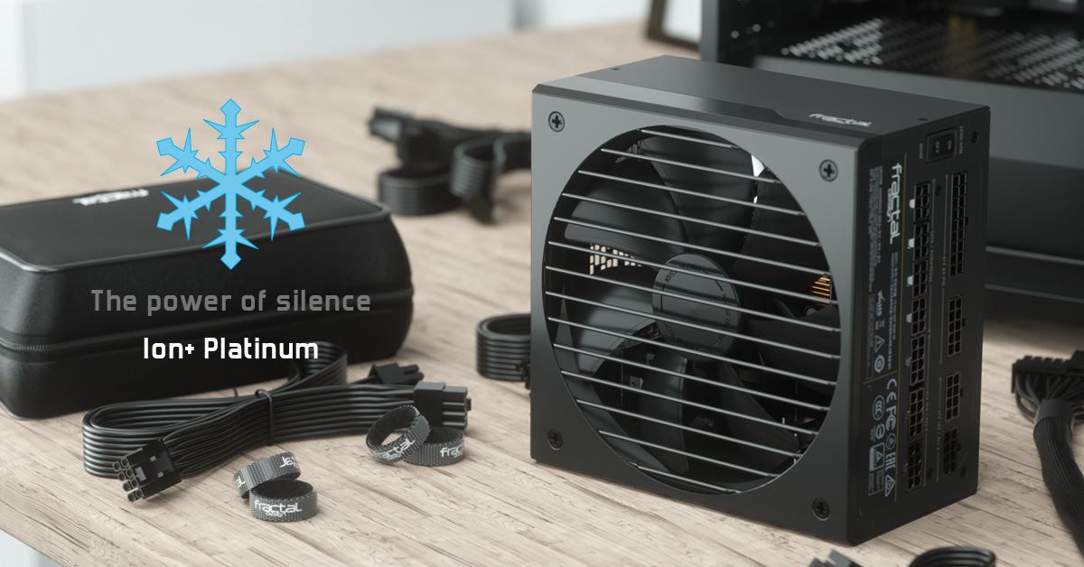 Fractal Design Ion+ Platinum Quiet PSU Enters The Market 1