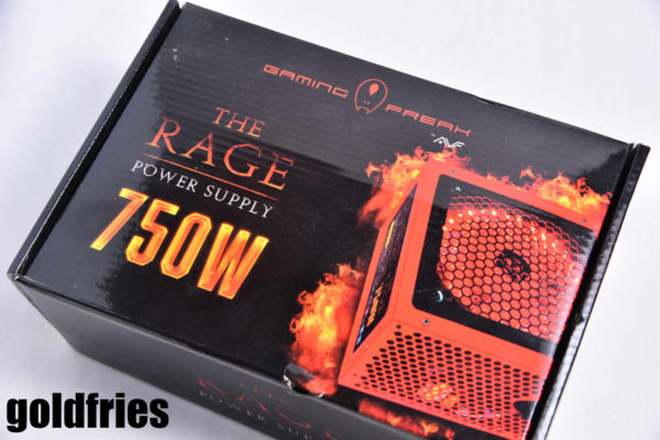 Gaming Freak The Rage 750W Power Supply Unit 1