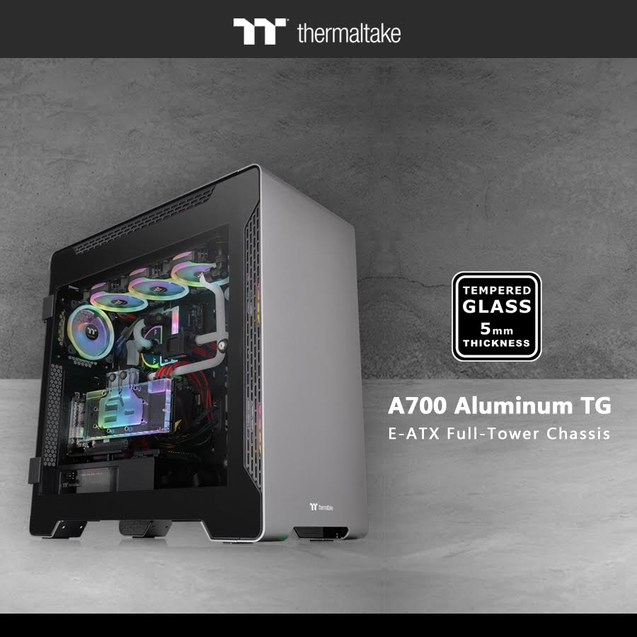Thermaltake A700 Aluminum Tempered Glass Edition Now Available 3
