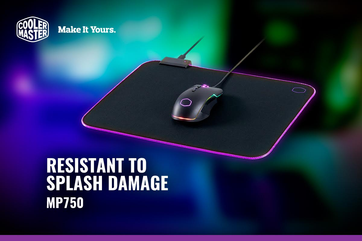 Cooler Master MP750 Soft RGB Mousepad Available 1