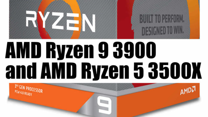 AMD Ryzen 9 3900 and Ryzen 5 3500X Launched! 10