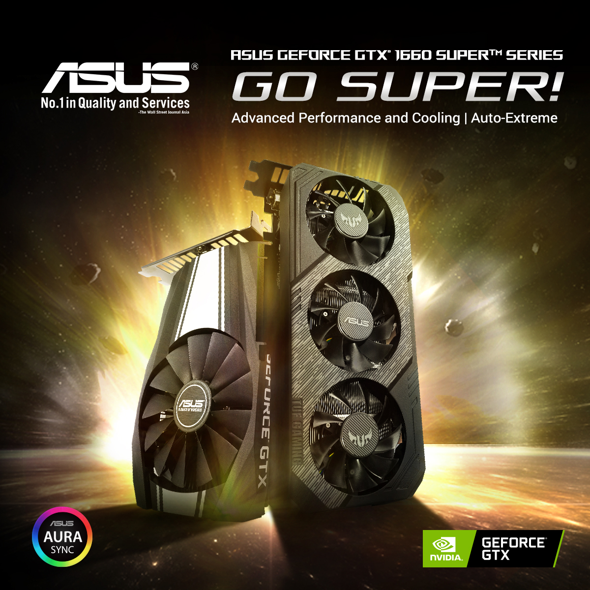 ASUS Launches GTX 1660 Super Graphics Cards 3
