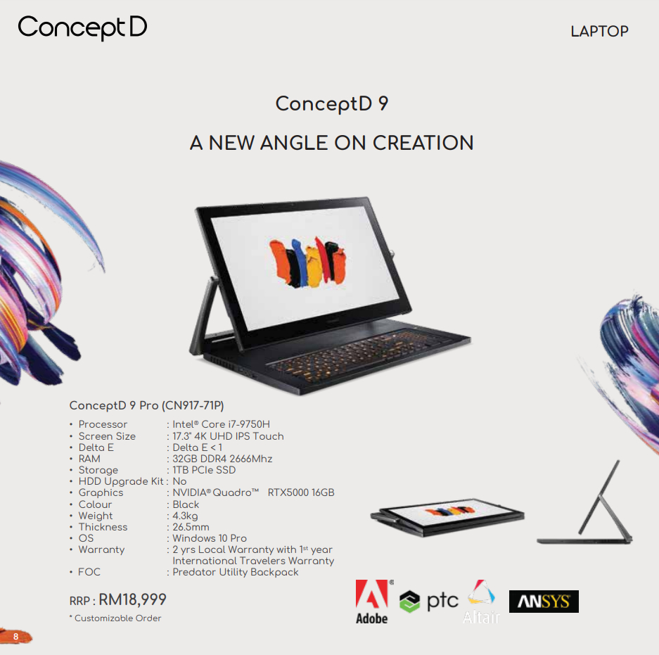 Acer ConceptD Launched in Malaysia 16