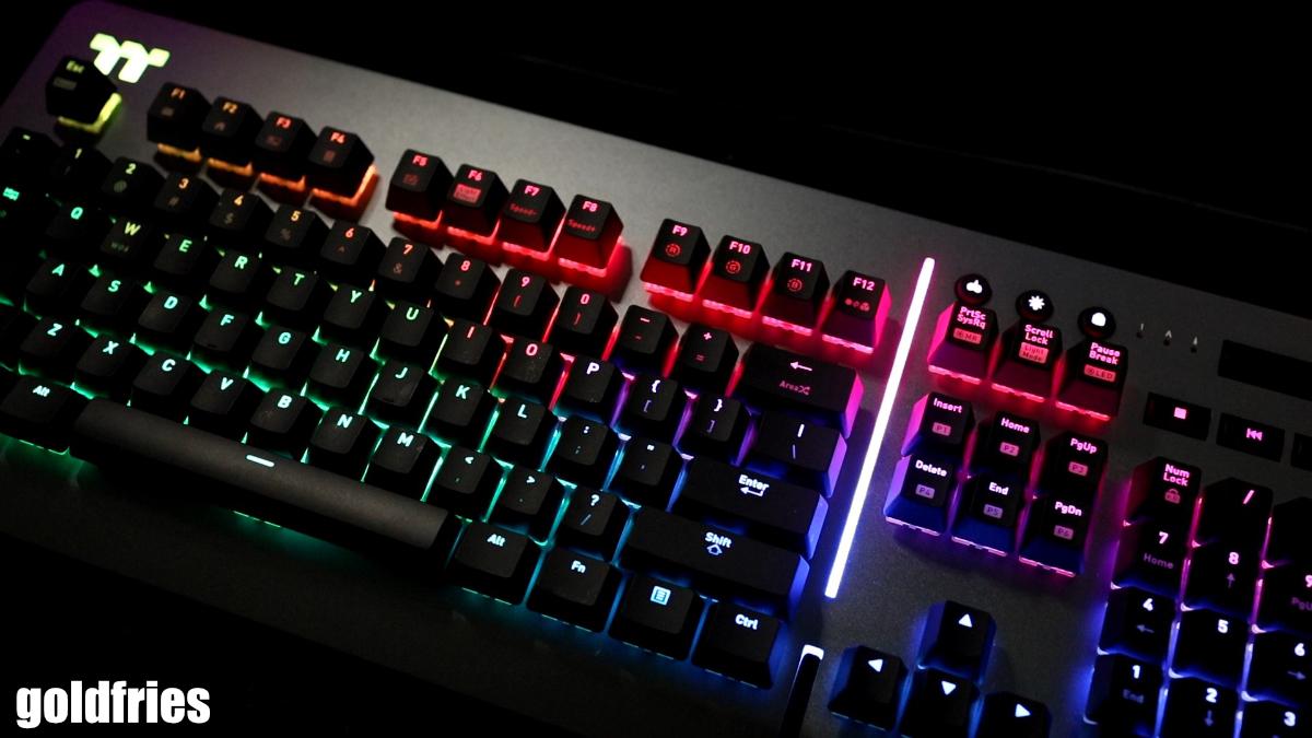 Thermaltake Level 20 RGB Titanium Edition Gaming Keyboard 5