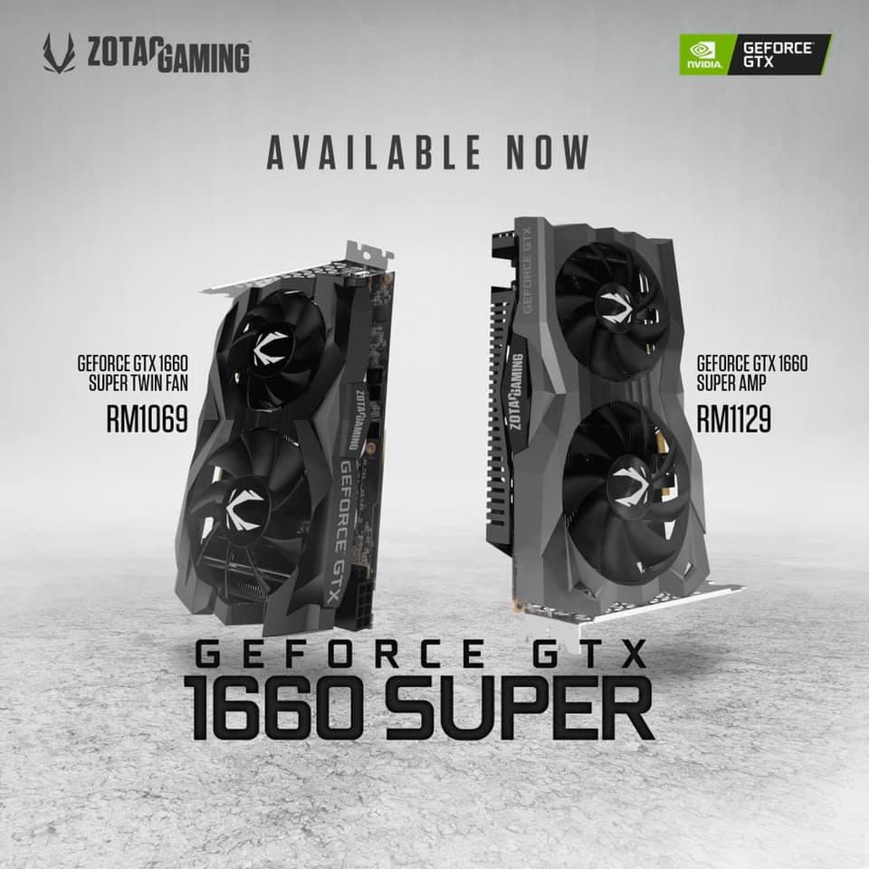 ZOTAC Launches GTX 1660 Super Models 1
