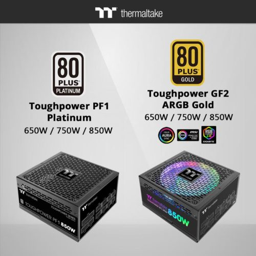 CES 2020 : ThermalTake with New Toughpower PF1 and Toughpower GF2 ARGB PSU 3
