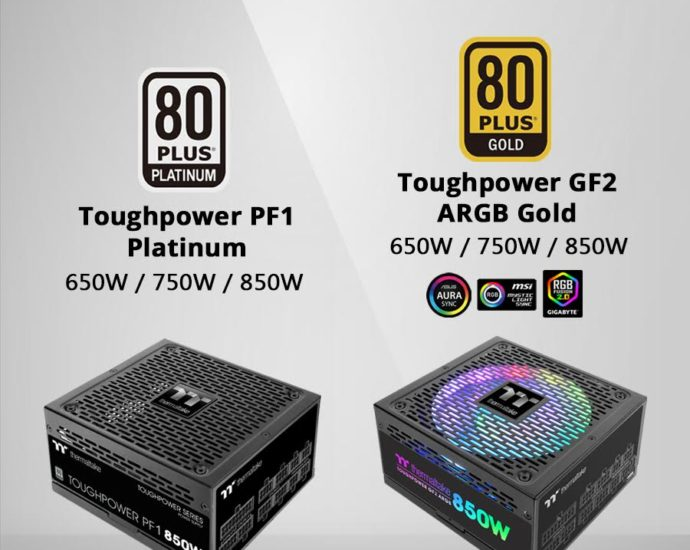 CES 2020 : ThermalTake with New Toughpower PF1 and Toughpower GF2 ARGB PSU 7