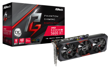 CES 2020 : ASRock Announces RX 5600 XT Phantom Gaming and RX 5600XT Challenger 23