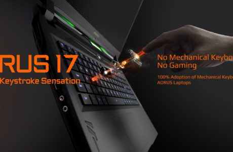 CES 2020 : Gigabyte Introduces New AORUS 17 with Mechanical Keyboard 21