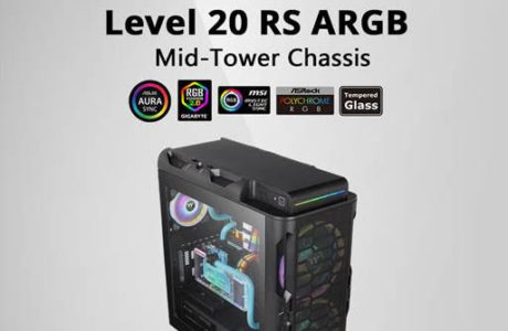 CES 2020 : Thermaltake Level 20 RS ARGB Mid Tower Chassis 16