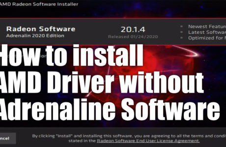 How to install AMD Driver without Adrenaline Software 15