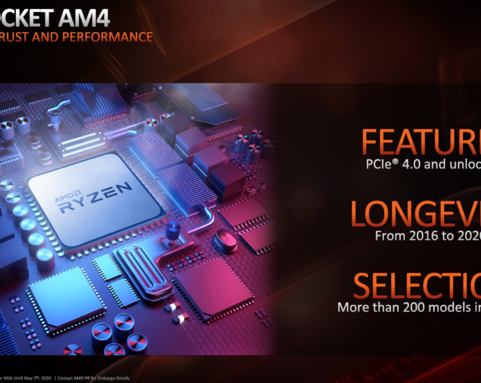 AMD B550 Coming in June! B450 Board Will Not Support Ryzen 4000 (Zen 3) Processors 1