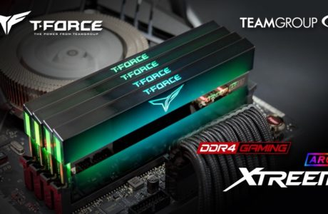 TEAMGROUP T-FORCE XTREEM ARGB Memory Module took the crown of AIDA64 Overclocking World Record of Quad Channel Kit 18