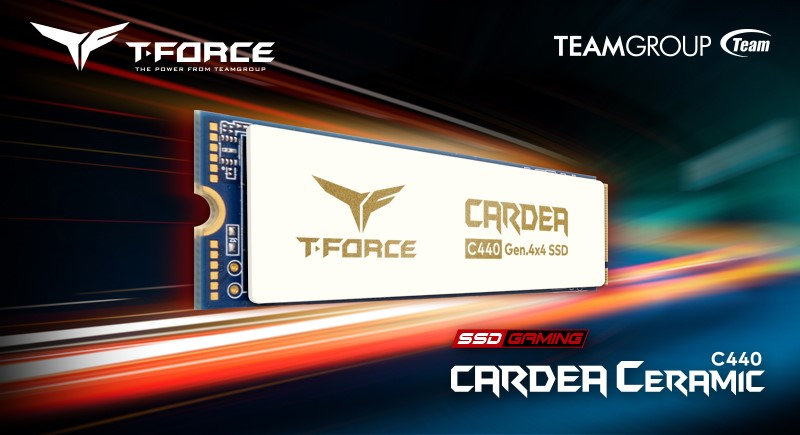 TEAMGROUP Announces T-FORCE CARDEA Ceramic C440 SSD 3